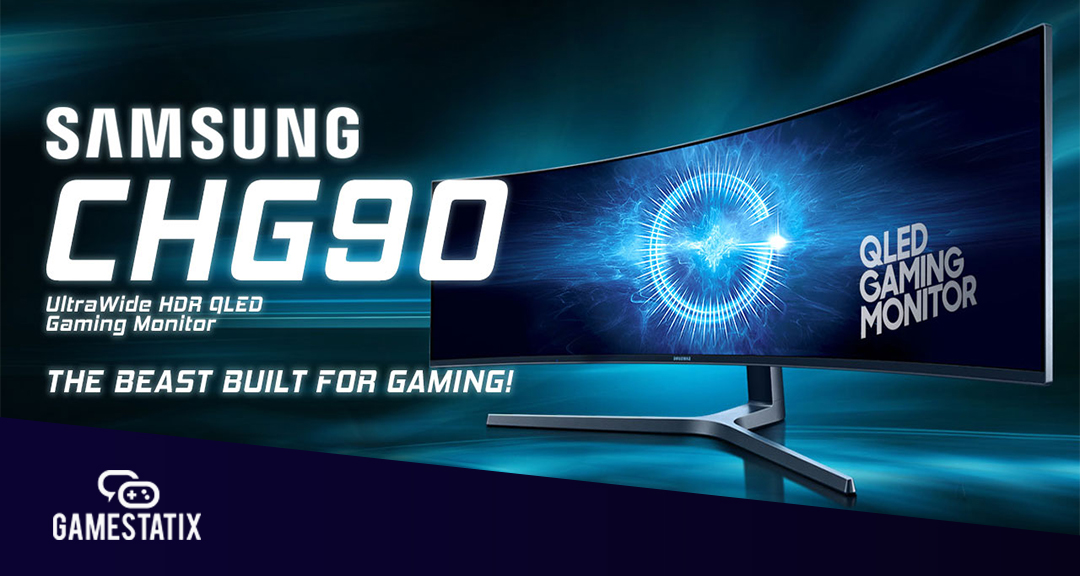 Samsung CHG90 QLED Gaming Monitor Giveaway