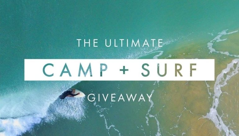 The Ultimate Camp + Surf Giveaway: Win $5,000 In Gear [CLOSED]