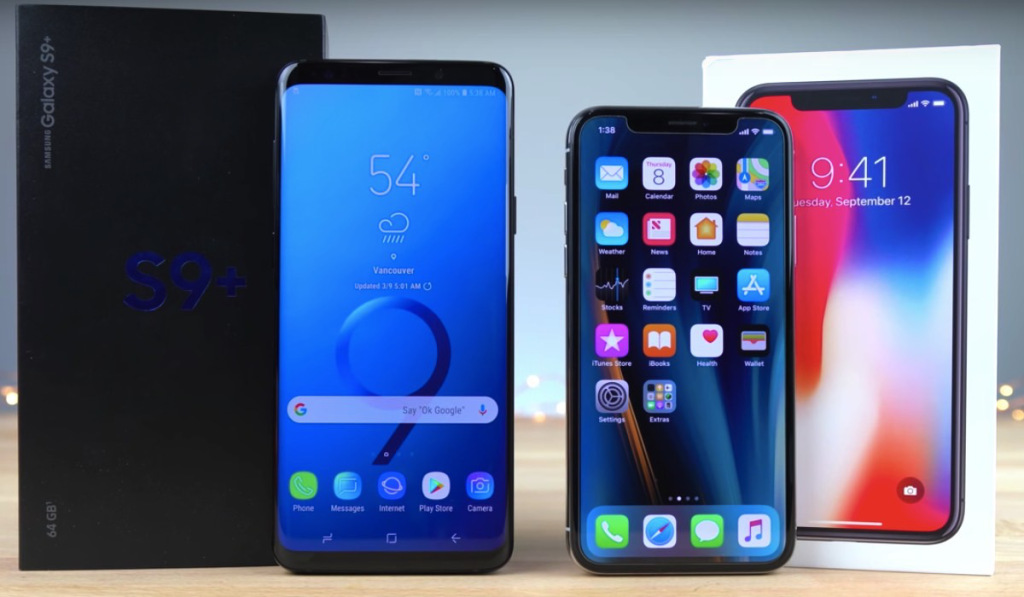 iPhone X and Galaxy S9 Plus Giveaway