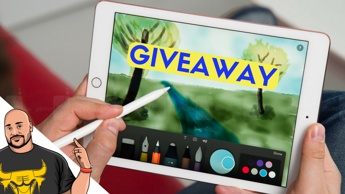Apple iPad And Apple Pencil Giveaway