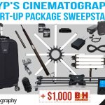 DIYP's Cinematography Start-Up Package Sweepstakes: Win Over $6,500 In Camera Gear
