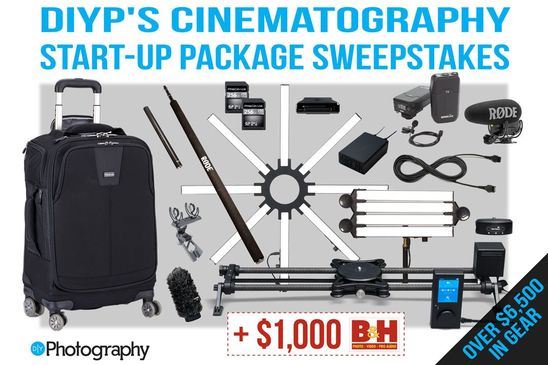 DIYPs Cinematography Sweepstakes