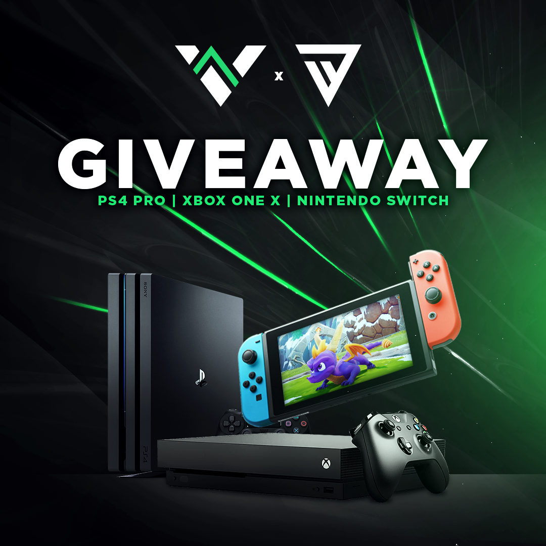 PS4 Pro Xbox One X Nintendo Switch Giveaway