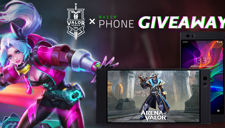 Valor Series Razer Phone Giveaway: Win A Razer Phone [CLOSED]