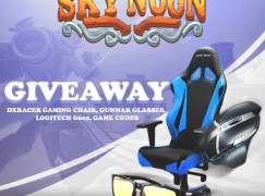 Sky Noon May Giveaway: Win A DXRacer Gaming Chair (And More!) [CLOSED]