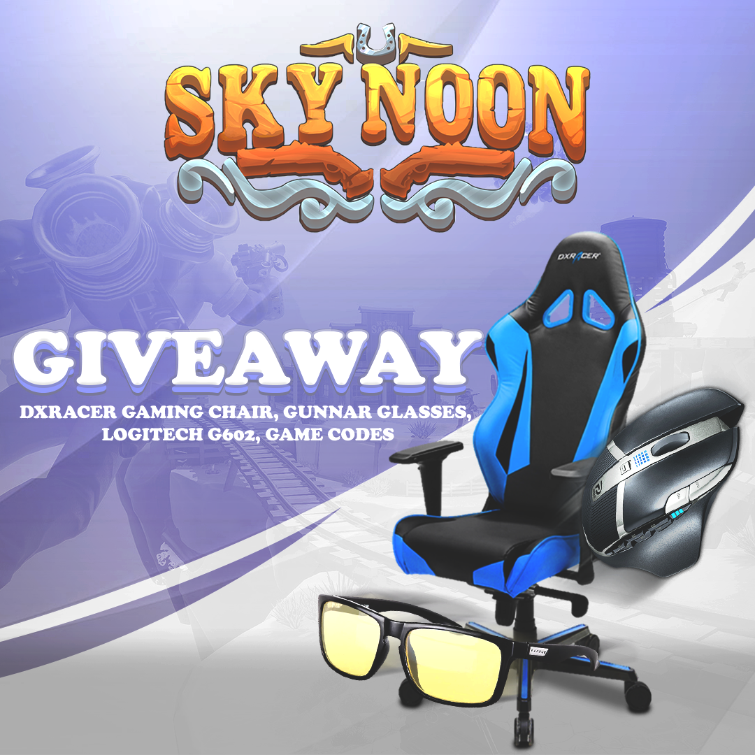 Sky Noon Gaming Chair Giveaway