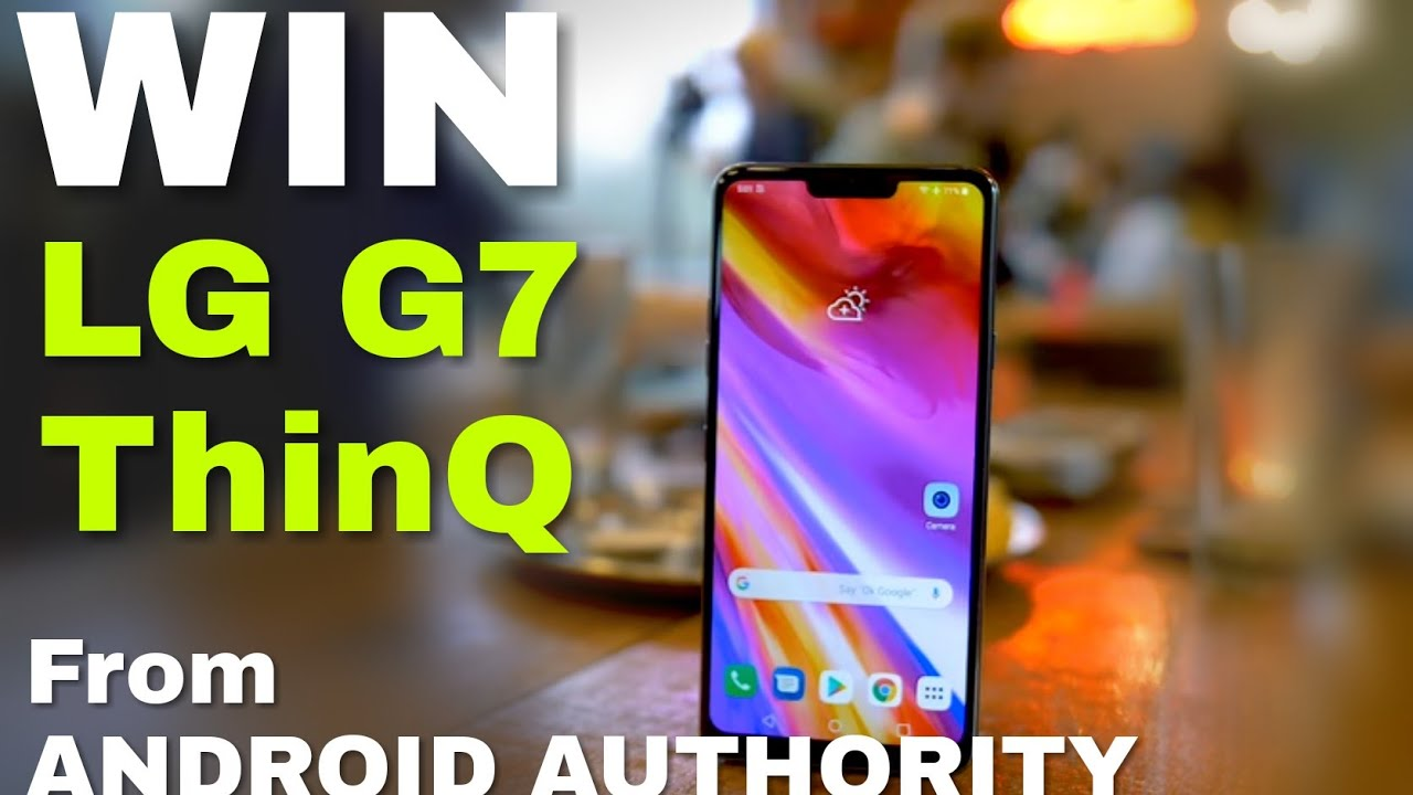 LG G7 ThinQ international giveaway