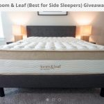 Loom & Leaf (Best for Side Sleepers) Giveaway: Win A Loom & Leaf Memory Foam Mattress