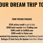 Dream trip to Italy Sweepstakes
