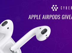 CyberVein Apple AirPods Giveaway: Win A Pair Of Apple AirPods [CLOSED]