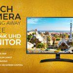 Beach Camera Giveaway: Win A 4K Computer Monitor