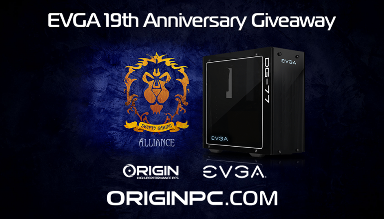 EVGA 19th Anniversary Giveaway: Win A Special EVGA Edition Origin PC (Worth $3200) [CLOSED]