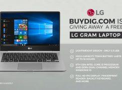 BuyDig LG Gram Laptop Giveaway: Win An LG Gram Laptop [CLOSED]