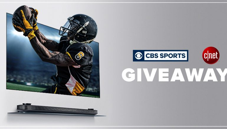 CNET & CBS Sports Kick Off Sweepstakes: Win A 65-inch LG Wallpaper TV [CLOSED]