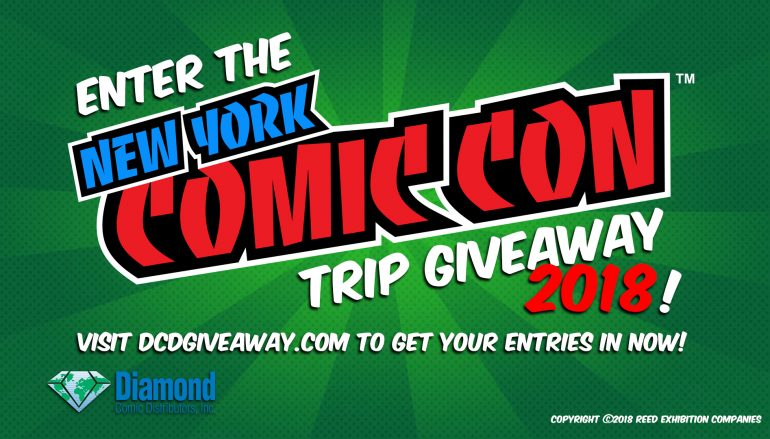 New York Comic Con Trip Giveaway 2018: Win A Trip To NY Comic Con (Flight And Hotel Included) [CLOSED]
