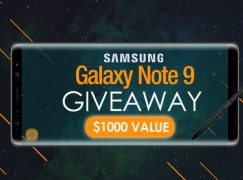 Supcase Samsung Galaxy Note 9 Giveaway: Win A Samsung Galaxy Note 9 [CLOSED]
