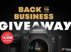 Premium Beat Back To Business Sweepstakes: Win A Sony A7III [CLOSED]