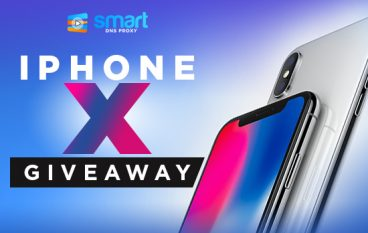 iPhone X Giveaway from Smart DNS Proxy: Win An iPhone X [CLOSED]