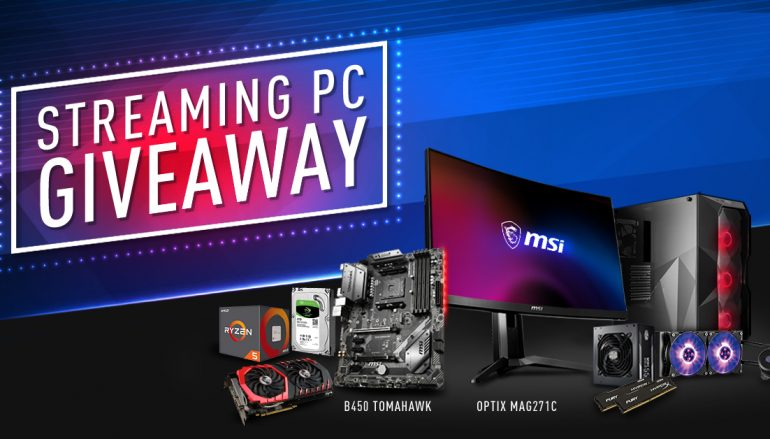 GamersGoLive MSI B450 GAMING PC Giveaway: Win A Gaming PC [CLOSED