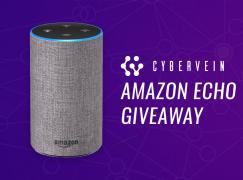 CyberVein Amazon Echo Giveaway: Win An Amazon Echo [CLOSED]