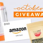 Teami October Giveaway: Win A $150 Amazon Gift Card