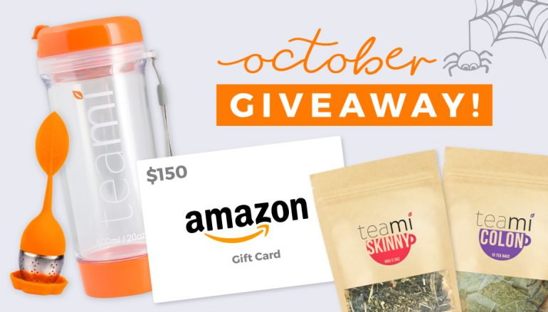 Teami October Giveaway: Win A $150 Amazon Gift Card [CLOSED]
