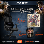 GamesPlanet Giveaway: Win A Gaming Chair And Soul Calibur Game