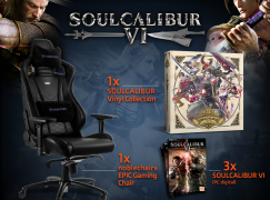GamesPlanet Giveaway: Win A Gaming Chair And Soul Calibur Game [CLOSED]