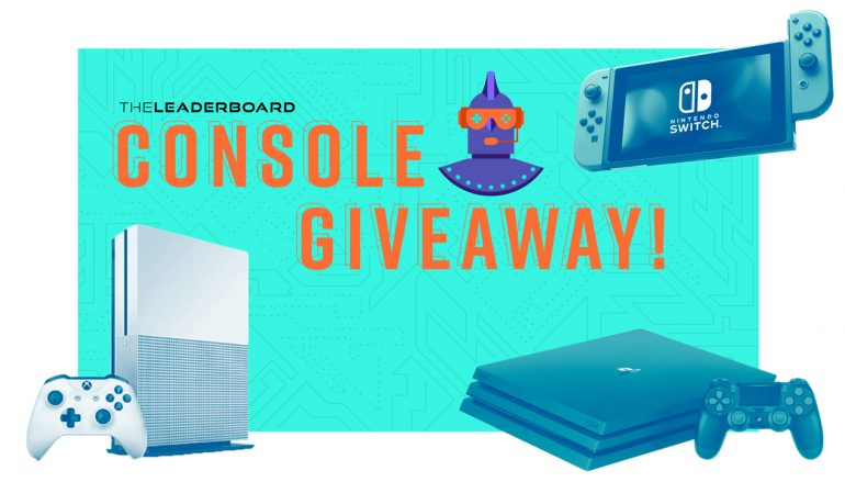 The Leaderboard Console Giveaway: Win Your Choice Of A PS4, Xbox One Or Nintendo Switch [CLOSED]