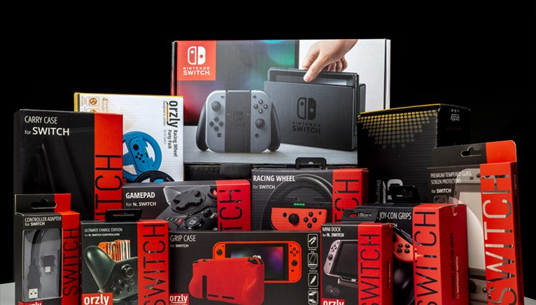Orzly 5 Year Anniversary Switch Giveaway: Win A Nintendo Switch [CLOSED]