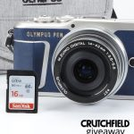 Olympus Limited Edition Camera Bundle Giveaway: Win An Olympus Camera