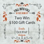 Fall Into Fall Giveaway: Win $100 VISA Gift Card (Or PayPal Cash)
