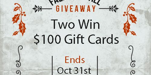 Win 100 Visa gift card