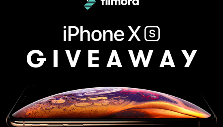 Filmora iPhone Xs Giveaway: Win An iPhone Xs [CLOSED]