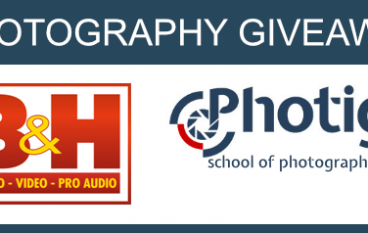 Pro Photography Giveaway: Win Over $4500 In Photography Gear (Multiple Winners) [CLOSED]