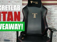 SecretLab Titan Giveaway: Win A Secretlab Titan PC Gaming Chair [CLOSED]