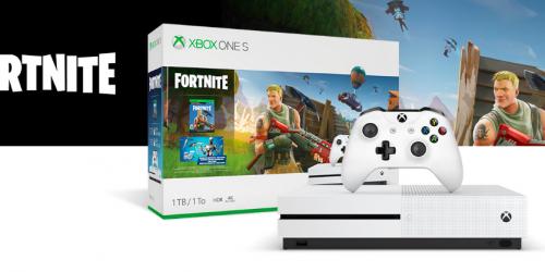 Win an Xbox One S Fortnite Bundle