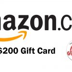 Giveaway Geek $200 Amazon Gift Card Giveaway: Win A $200 Amazon Gift Card