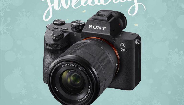 Sony A7III Giveaway: Win A Sony A7III W/ 28-70mm Lens