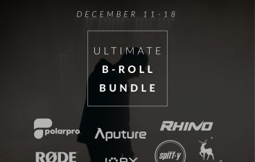 Rhino Ultimate B-Roll Bundle Giveaway: Win Camera Gear Including Rhino Arc II, Aputure 120D + Light Dome, Rode VideoMic Pro+ And More!