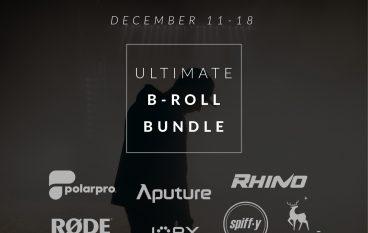 Rhino Ultimate B-Roll Bundle Giveaway: Win Camera Gear Including Rhino Arc II, Aputure 120D + Light Dome, Rode VideoMic Pro+ And More!