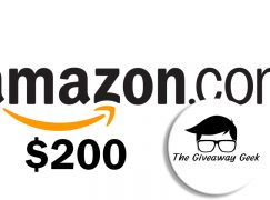 GiveawayGeek $200 Amazon Giveaway: Win A $200 Amazon Gift Card [CLOSED]