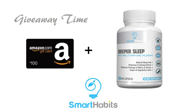 SmartHabits Giveaway: Win A $100 Amazon Gift Card [CLOSED]