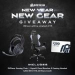 ITAM New Gear Giveaway: Win A DXRacer Gaming Chair, HyperX Cloud Revolver S Gaming Headset And $200 INTO THE AM Store Credit