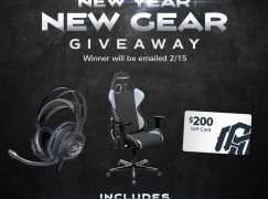 ITAM New Gear Giveaway: Win A DXRacer Gaming Chair, HyperX Cloud Revolver S Gaming Headset And $200 INTO THE AM Store Credit [CLOSED]