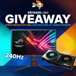 NVIDIA GeForce RTX 2060 and ASUS ROG Strix Gaming Monitor Giveaway
