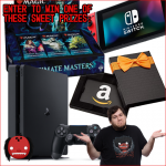 Win a PS4 Nintendo Switch or Amazon Gift Card