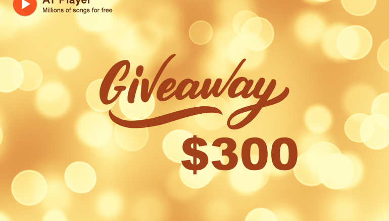 AT Player $300 Giveaway: Win $100 Cash (3 Winners Total)