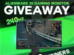 JoshOG February Alienware 25 Gaming Monitor Giveaway: Win An Alienware 25 Gaming Monitor (3 Winners) [CLOSED]