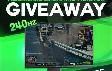JoshOG February Alienware 25 Gaming Monitor Giveaway: Win An Alienware 25 Gaming Monitor (3 Winners)